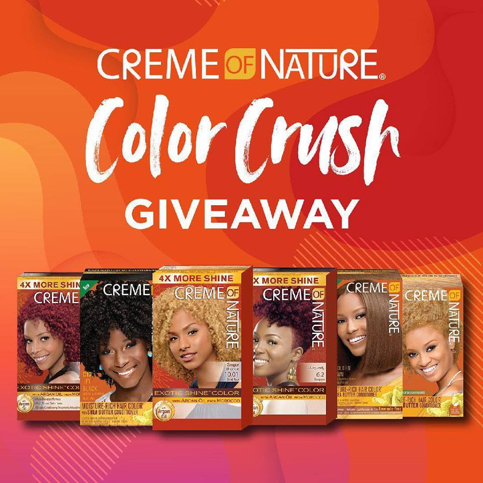 Free Creme Of Nature Hair Color Sample Texting Required Phatwallet