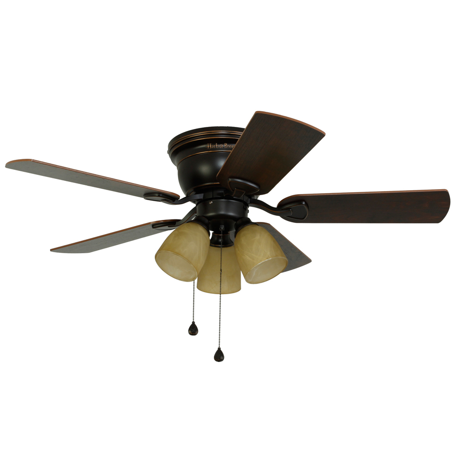 Harbor Breeze Centreville 42 In Oil Rubbed Bronze Indoor Flush Mount Ceiling Fan With Light Kit 12 49 Lowe S Possible Ymmv Phatwallet